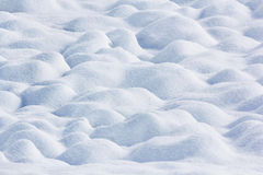 Snow ground wave bump Royalty Free Stock Image