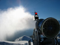 Snow gun Royalty Free Stock Photos