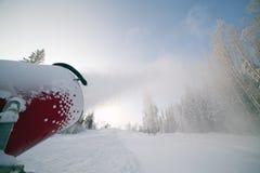 Snow gun. Stock Image