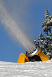 Snow gun Stock Photography