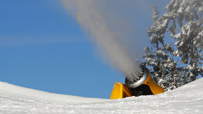 Snow gun Stock Photo