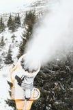 Snow gun Royalty Free Stock Photography