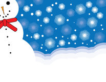 Snow Guy Stock Images