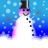 Snow Guy Royalty Free Stock Photo
