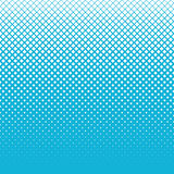 Snow of halftone cubes on blue sky background Stock Photography