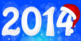 2014 From Snow Stock Image