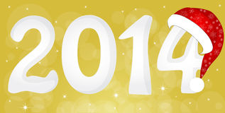 2014 From Snow Royalty Free Stock Image