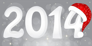 2014 From Snow Royalty Free Stock Photos