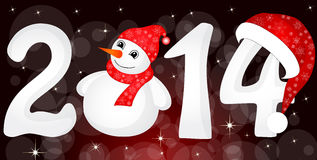 2014 From Snow Royalty Free Stock Photo