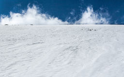 Snow heap. 5000 m under the sea in Nepal, Himalaya Stock Images