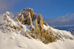 Snow High peak Royalty Free Stock Image