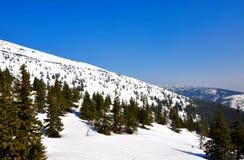 Snow hill Stock Photos