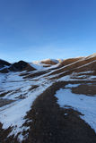 Snow hills Stock Image