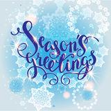 Snow holiday background Royalty Free Stock Image