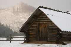 Snow house Royalty Free Stock Image