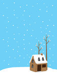 Snow house Royalty Free Stock Photography