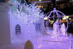 Free Snow House Decoration Stock Photo - 36917250