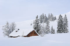 Snow Hut Royalty Free Stock Photos