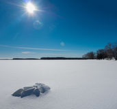 Snow and Ice Stock Photo