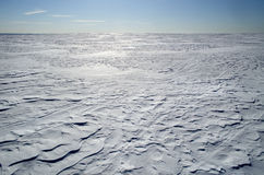 Snow ice crust Royalty Free Stock Images