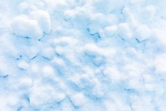 Snow and ice crystal background or texture of Russian park of forest stock images