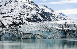 Snow and Ice, Glacier Bay, Alaska Royalty Free Stock Images