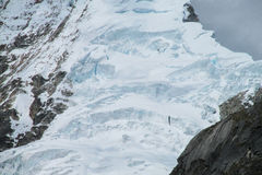 Snow and ice glacier Royalty Free Stock Images