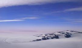 Snow ice landscape Stock Photos