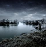 Snow and ice landscape Royalty Free Stock Photography