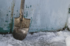 Snow And Ice Removal Royalty Free Stock Photos