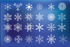 Snow Icon Stock Photo