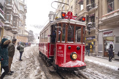 Snow in Istanbul Stock Photos