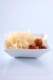 Snow jelly fungus Stock Image
