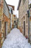 Snow in Jerusalem Stock Photos