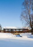 After the snow in jingyuetan. After the snow of Changchun jingyue Park Stock Photography