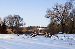 After the snow in jingyuetan-3. After the snow of Changchun jingyue Park Royalty Free Stock Images