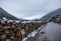 Snow in Kangding Stock Images