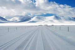 Snow Land Stock Photo