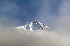 Snow landscape. In the french alpen Stock Photography