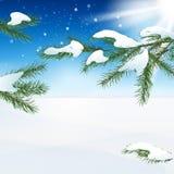 Snow landscape Royalty Free Stock Photo