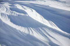 Snow layers background Royalty Free Stock Photo