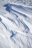 Snow layers background Royalty Free Stock Image
