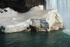 Snow Layers Stock Photo