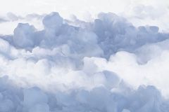 Snow Like Clouds royalty free stock image