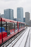 Snow in London. Royalty Free Stock Image
