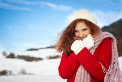 Snow love Royalty Free Stock Photos