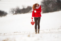 Snow love Royalty Free Stock Photo