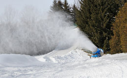 Snow machine Royalty Free Stock Images