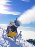 Snow machine gun Stock Photography