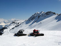 Snow machines Royalty Free Stock Photos